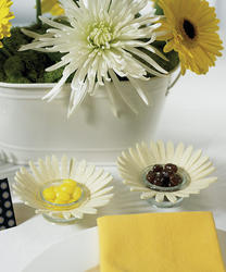 Felt Daisy Candle Holder