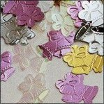 Multicolor Embossed Bell Confetti Mix