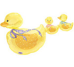 36 Trail of Duckies Baby Shower Balloon
