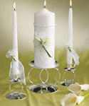 Bridal Beauty Calla Lily Unity Candle