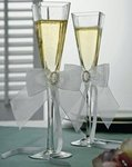 Crystal Eternity Toasting Flutes
