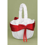Red Lasting Radiance Flower Basket