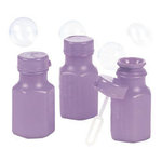 Mini Hexagon Lavender Bubble Bottles - Pkg 48