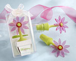 Blooming Flower Bottle Stopper in Whimsical Window Gift Box