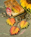 Autumn Themed Key Ring Favors