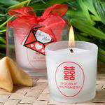 Traditional Double Happiness symbol candles