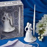 Bride and Groom Design Wedding Pen Set