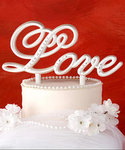 Love Theme Cake Topper