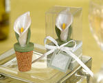 Calla Lily Bottle Stopper - Pkg 4