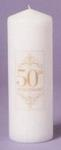 25th or 50th Anniversary Unity Candle