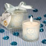 Baby Blue Teddy Bear Themed Favor