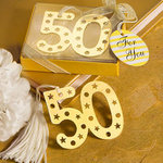 50th Anniversary Design Book Mark Favor
