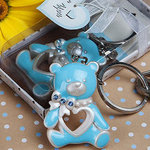 Teddy Bear Key Chain Favor (Pink/Blue)
