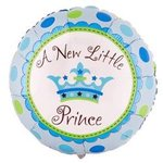 18 A New Little Prince Mylar Balloon