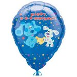 18 Blues Clues Personalized Mylar Balloon