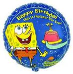 SpongeBob Happy Birthday 18 Mylar Balloon