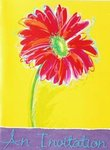 Bright Daisy Invitations - Pkg 8