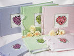 Flower of Love Guest Book - 3 Colors!