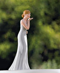 Bride Blowing Kisses Figurine