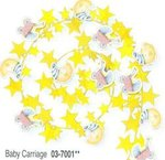 12' Baby Carriage Wire Garland