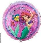 18 Little Mermaid Happy Birthday Mylar Balloon
