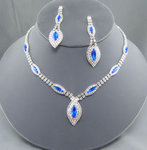 Madeline Rhinestone Necklace Set - 7 Colors!