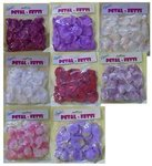 Two Tone Shaded Small Rose Petal Fetti Pkg 100