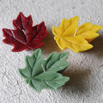 4 Maple Leaf Floating Candle