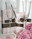 Chocolate & Strawberry Cream Toasting Glasses