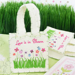 Love is in Bloom Felt Favor Bag