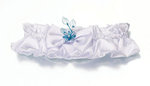 Isle Blue Flower Garter