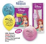 Little Mermaid 12 Latex Balloons Pkg 6