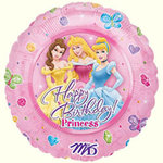 18 Disney Princesses Happy Birthday Balloon