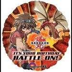 18 Bakugan Happy Birthday Mylar Balloon