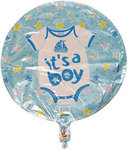 18 Its A Boy Onesie Design Mylar Balloon