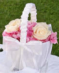Infinity Flower Girl Basket