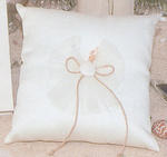 Sea Shell Ring Bearer Pillow