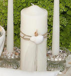 Sea Shell Unity Candle Set