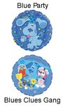 18 Inch Blues Clues Mylar Balloon - 2 Styles