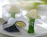 Calla Lily Bouquet Candle Favor