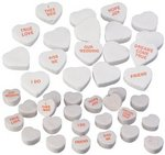 2 Sizes Conversation Heart Candy - By the Pound
