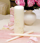 Sparkling Entwined Unity Candle Set