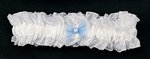 Organza Garter with Organza Bow - Colors!