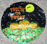 18 Inch Halloween Trick or Treat Balloon
