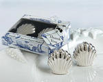 Seaside Shells Salt & Pepper Shakers - Set of 2