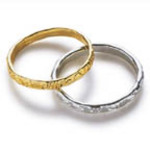 GOLD or SILVER Wedding Ring Favors