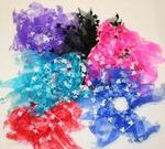 Satin Butterfly Hair Tutu - 6 Colors!