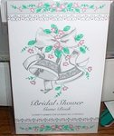 Bridal Shower Game Book