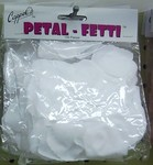 Solid Color Rose Petal Fetti Pkg/100 - 10 Colors!