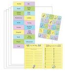Bottles and Booties Baby Shower Game Kit